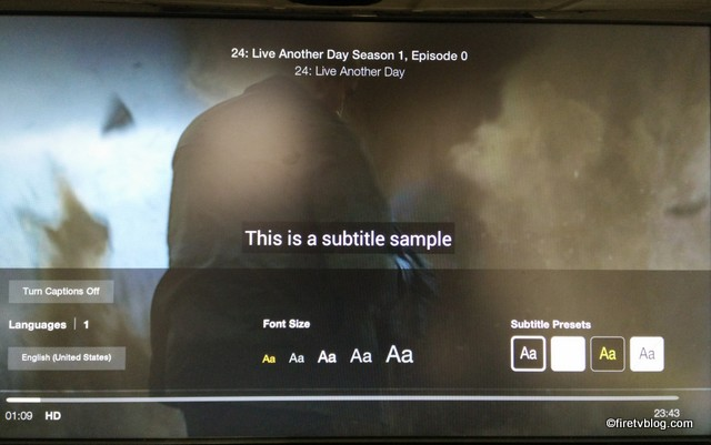 Fire TV Subtitles when watching Youtube and Prime | Amazon FireTV Blog