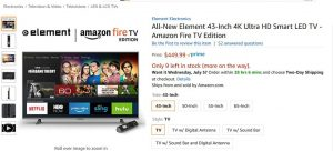 element tv | Amazon FireTV Blog